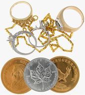 Gold Buyers - Platinum Buyers - Bullion Buyers - Scrap Jewelry Buyers